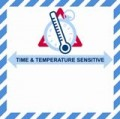 VTT Time & Temperature Sensitive Handling Label 100mm x 100mm  - Rolls of 250