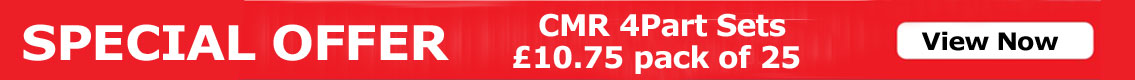 Special offer - cmr 4 part set